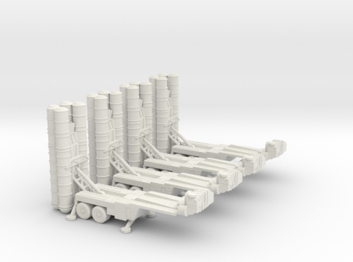 S-400 Missile Section 6mm Low Res 3d printed