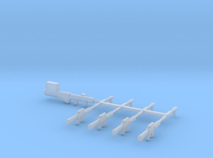 EQ05 Crusher Weapon Set (28mm) 3d printed