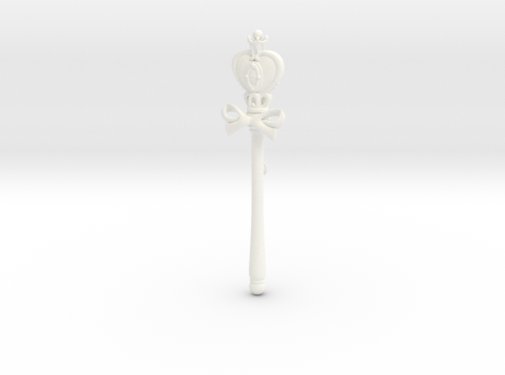 Sailor Moon Spiral Heart Rod SD  3d printed