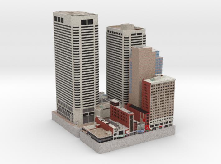 Centre Square (Set of 2) - Philadelphia, PA 3d printed