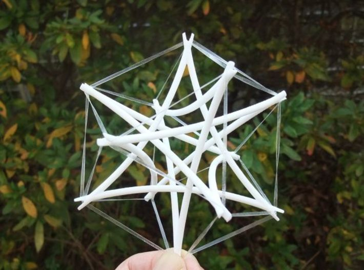 Tensegrity Cuboctahedron 2 3d printed