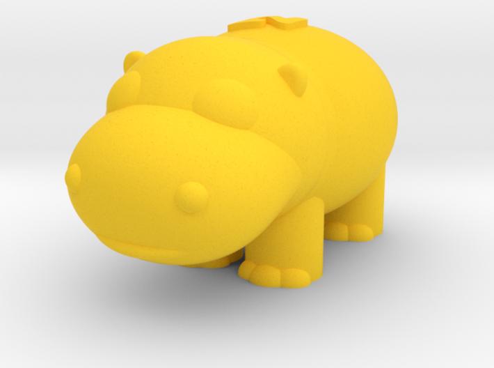 Hippo (Nikoss'Animals) 3d printed