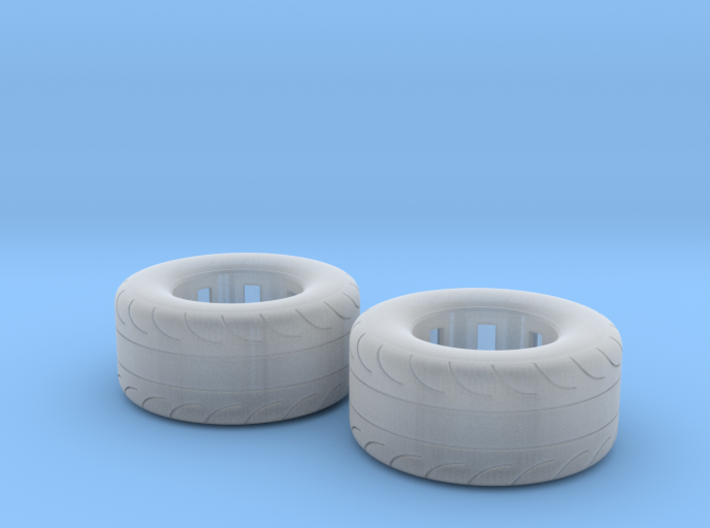 1/32 Scale Pair Of 325 50 15 MT Slicks 3d printed