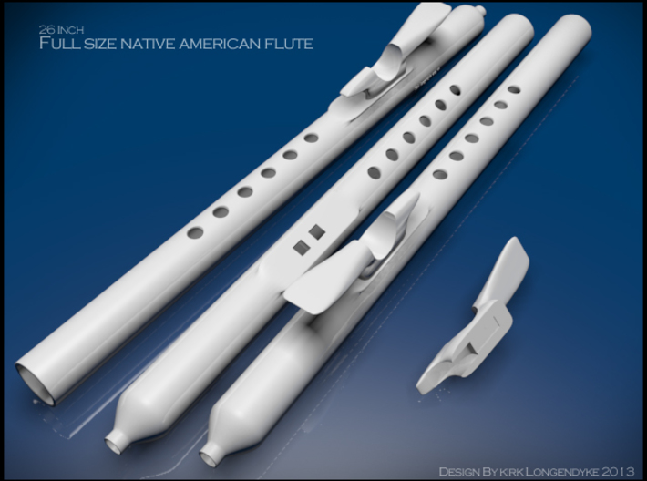 Native-America-Flute-Kit-Wind-Of-Life 3d printed Native American 26 Inch Flute