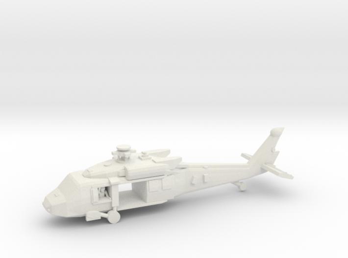 UH-60M (main,front Doors Open, W Crew) 3d printed