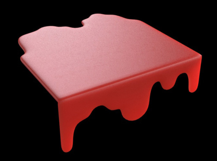 Liquid Chopping Board 3d printed