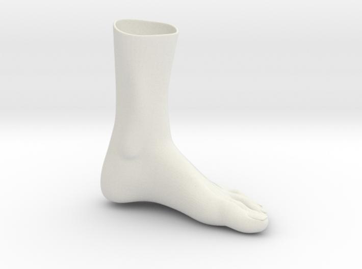 Women Leg Vase 3d printed