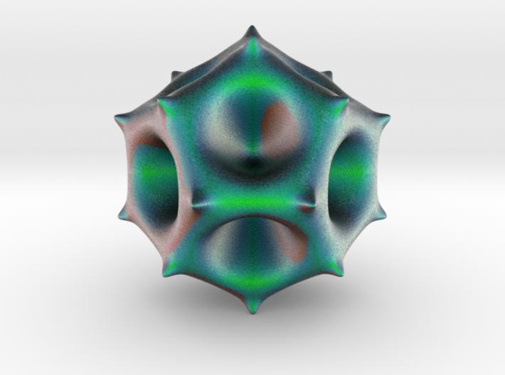 Alien-Spore 3d printed