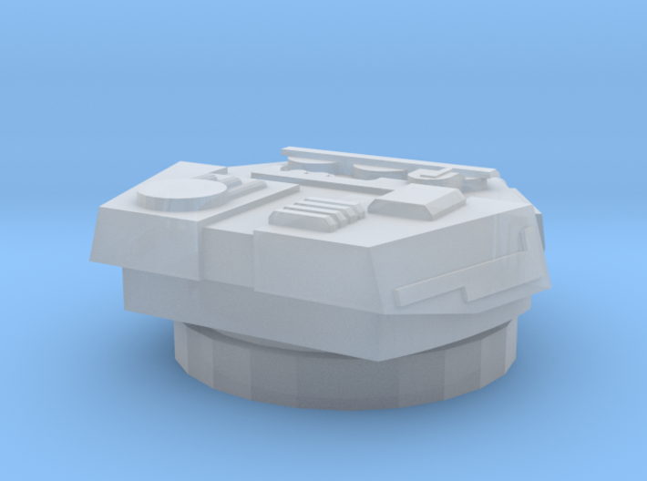 Devastator Turret (5mm) 3d printed