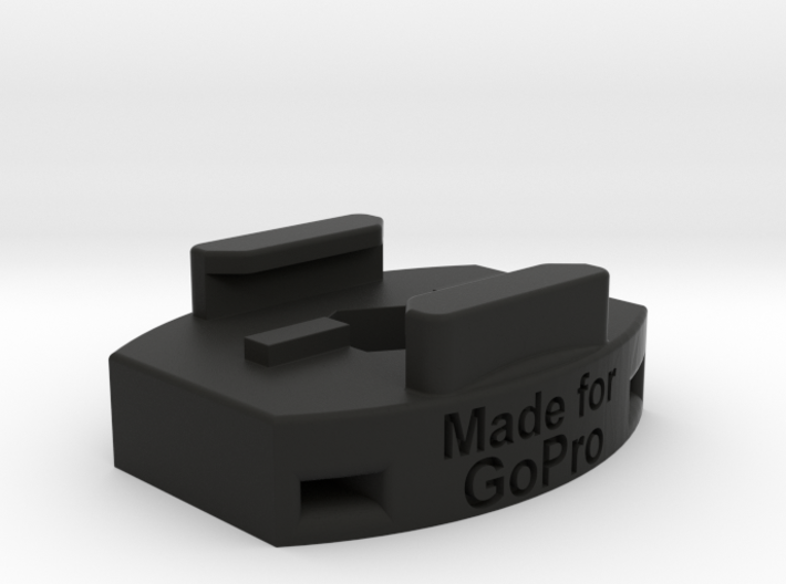 "GoPro Large Tripod and Zip Tie Mount - 3/8"" by 16 3d printed"