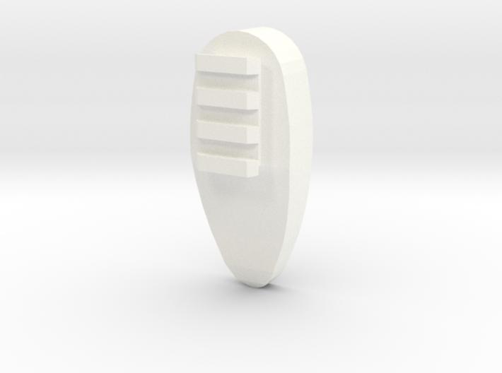 One World Shoulder Pad 3d printed