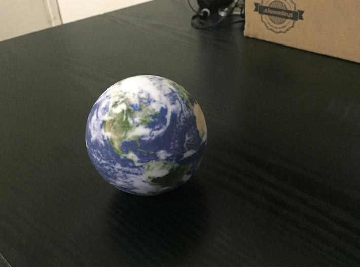 Earth 3d printed