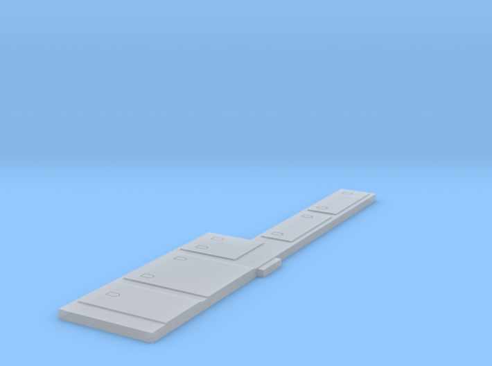N Scale C39-8 Battery Boxes 3d printed