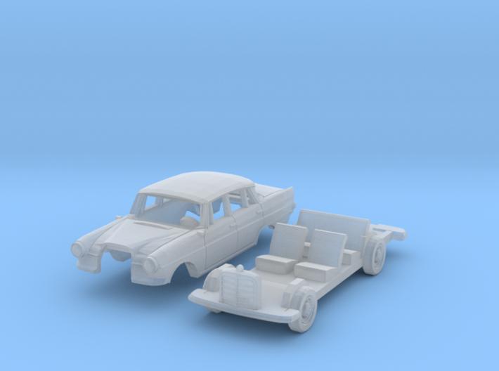 Mercedes-Benz 190 (N 1:160) 3d printed