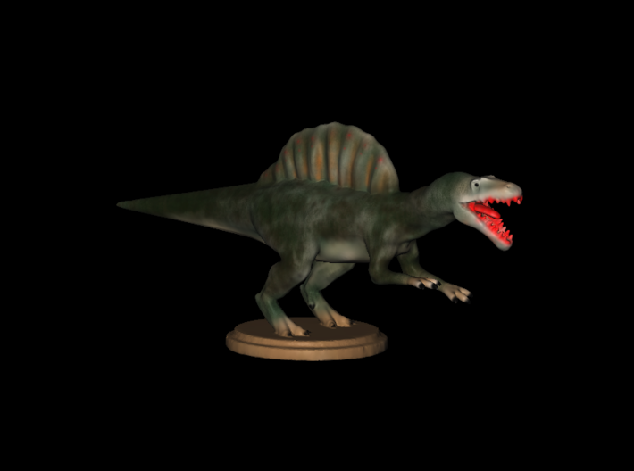 Replica Miniature Dinosaurs Spinosaurus Model A.02 3d printed