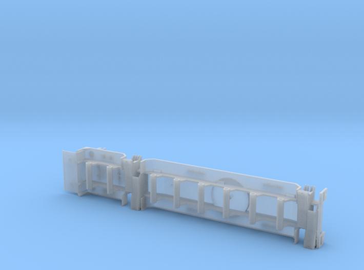 Amk306 1-87 Under Carrier 3d printed