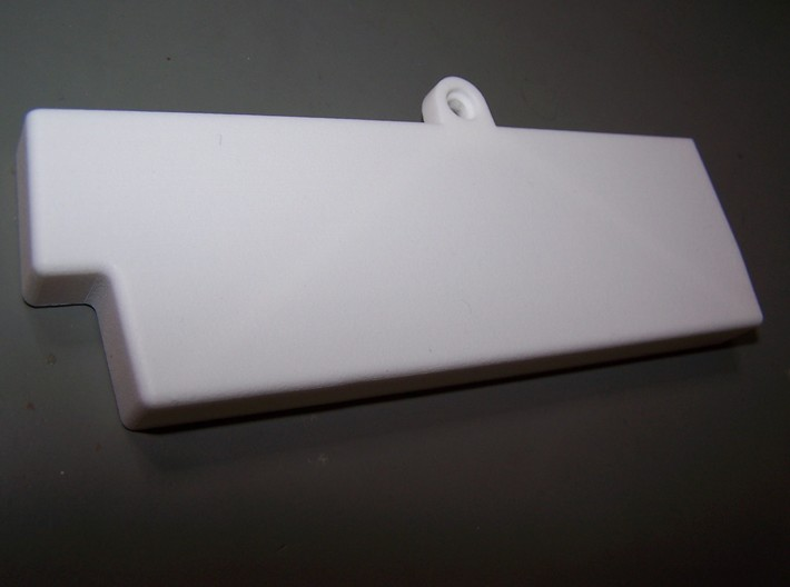 Commodore Amiga CD32 closed Expansion Cover 3d printed
