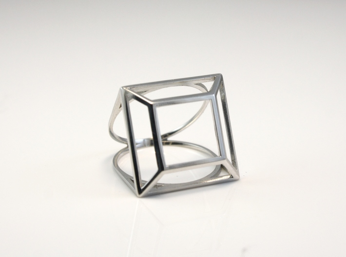 Princess Simple Wire Ring - US Size 07 3d printed