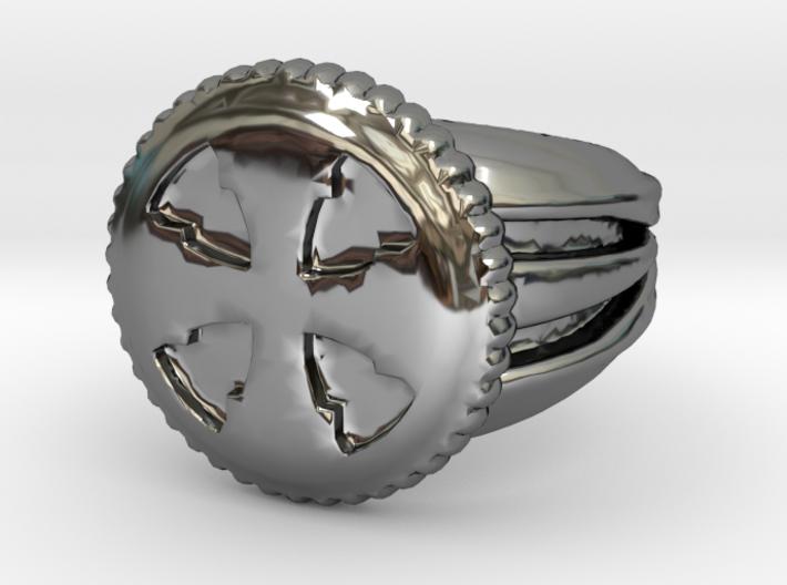 VargheimCross Ring Alfa 3d printed