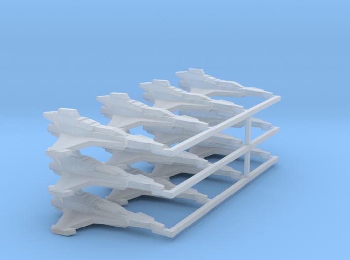 [4] Mk VII Strike Fighter Squadron 3d printed