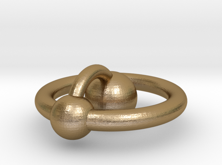 Mini Hydrogen Atom Pendant 3d printed