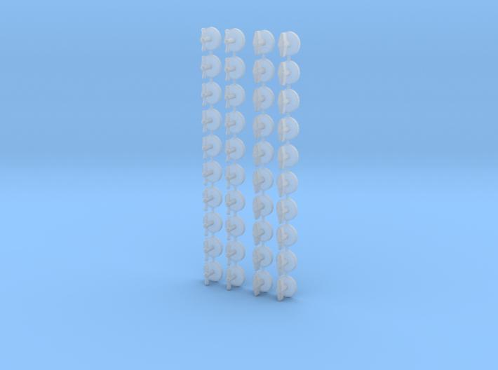 1/18 Dial/Handle Set 3d printed
