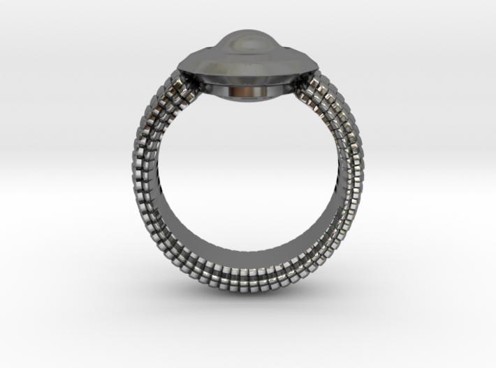 WunderWaffe Ring Alfa Ver1 SIZE10 3d printed