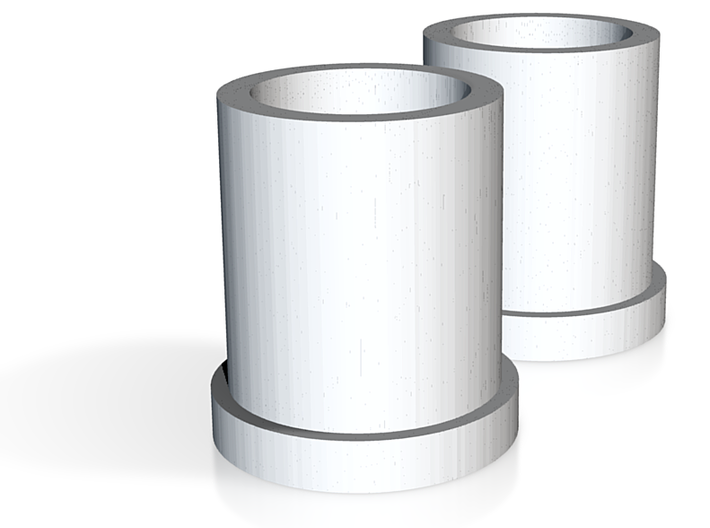 Fork Plain Bearings 3d printed
