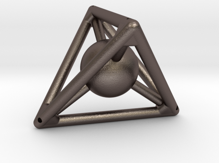 Small Tetra with Sphere (small reinf.) 3d printed