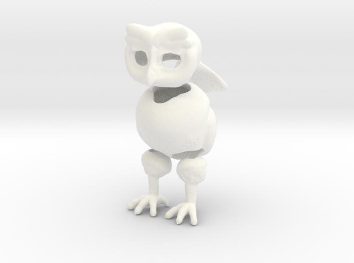 Little Owl BJD 3d printed