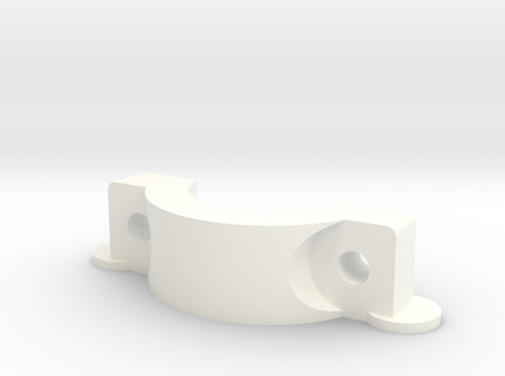 Effector Hotend Mount Clamp 3d printed