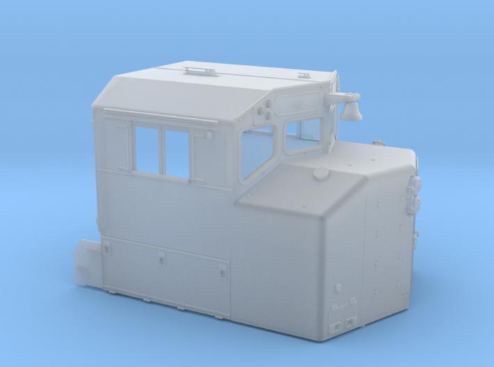 "CB0015 CN SD40-2W CAB REBUILT ""A"" 1/87.1 3d printed"