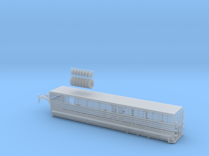 1/64 36' Cattle Trailer Bar Style 3d printed