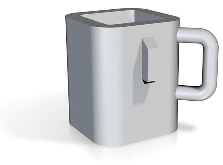 Ingot-mold mug 3d printed