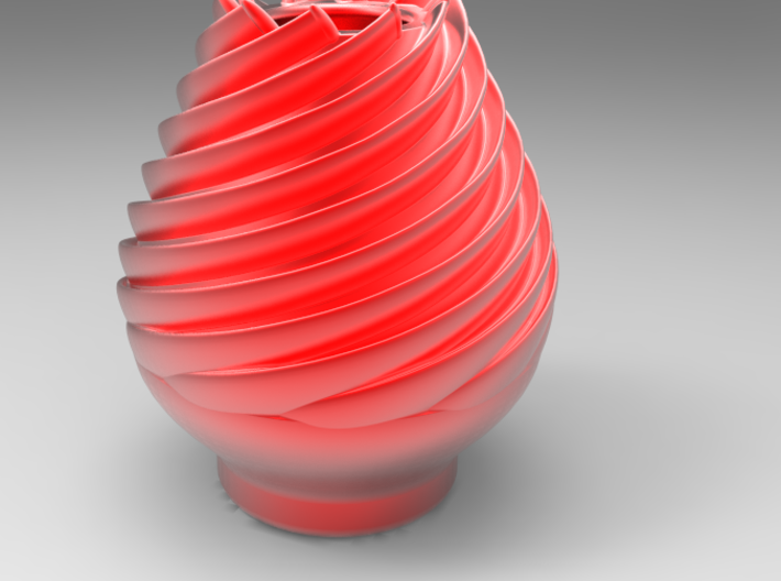Rosebudvase Fixed 3d printed