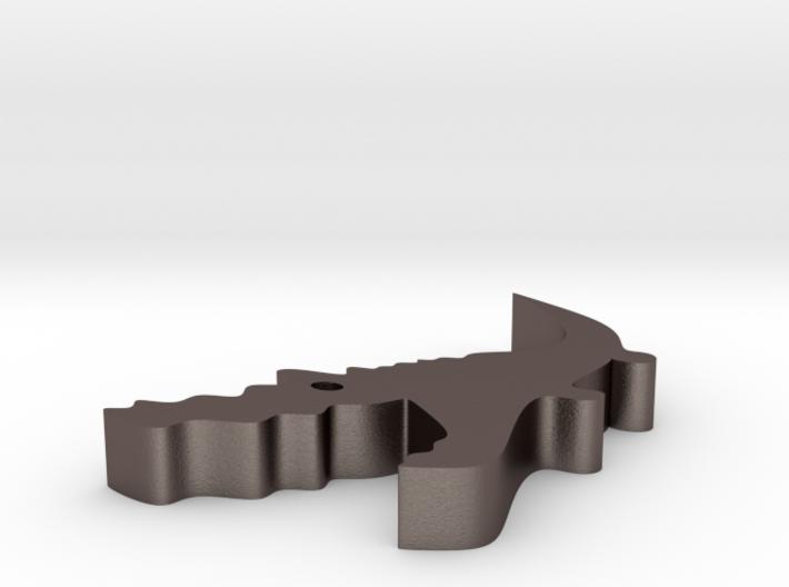 Crocodile Opener 3d printed