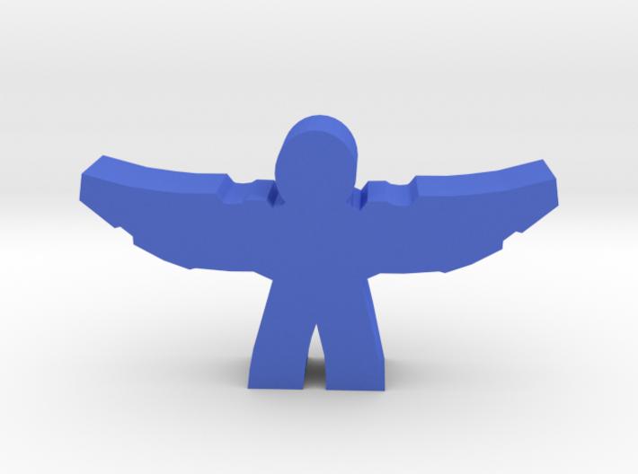 Wing-Suit Hero Meeple 3d printed