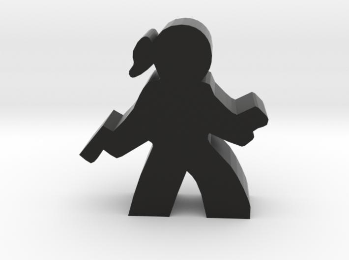 Agent Hacker Meeple 3d printed