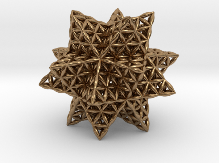 Flower Of Life Stellated Icosahedron 3d printed