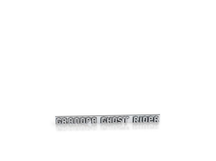 Grandpa Ghost Rider Car/Van Badge 3d printed