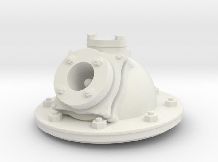 Zylinderkopf für Kromhout Motor 1/6 3d printed