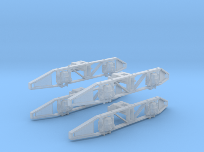 O class O gauge Side Frames - Sydney Number 4 Truc 3d printed