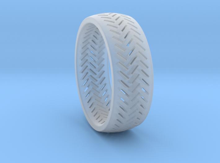 Herringbone Ring Size 16 3d printed