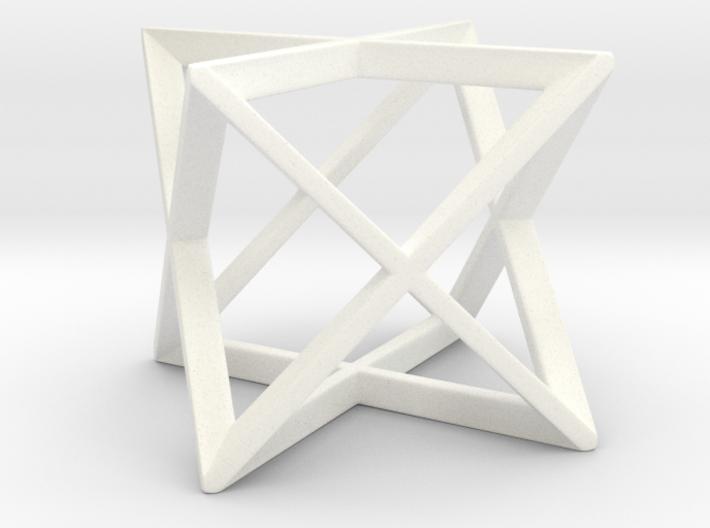 Stellated Octahedron (Merkaba) 3d printed