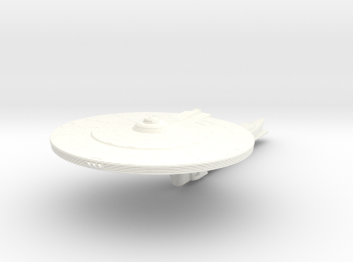 Nelson Class VII Refit Scout 3d printed