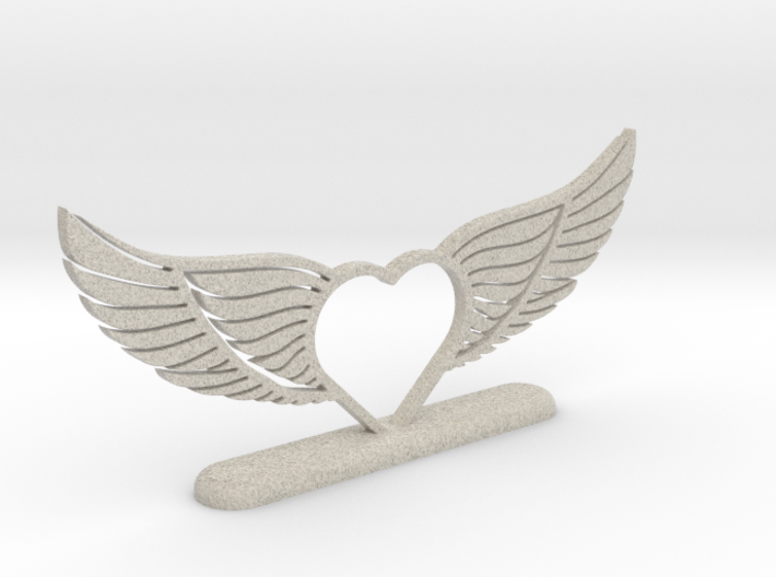 Wing-02 Accessory 3d printed
