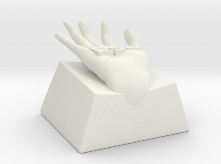 Hand escape key 3d printed