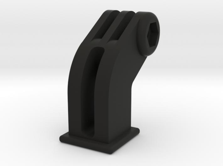Cateye to GoPro adaptor mount - long version 3d printed