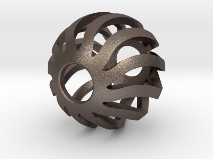 Earth-Sphere 3d printed