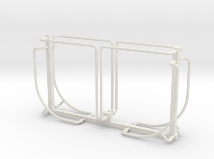 PRR N5b Cabin Car Handrail Set (1:29 Scale) 3d printed